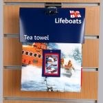 RNLI tea towel header card